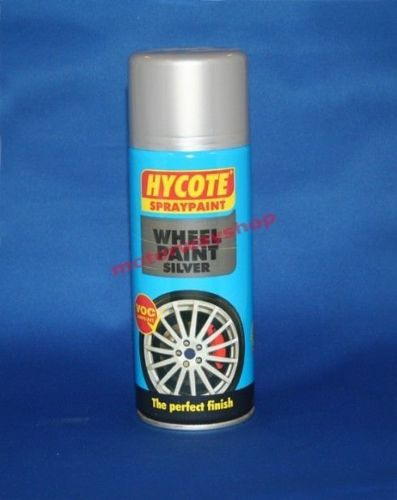 Wheel Paint Silver Spray Paint Hycote 400ml Brand New